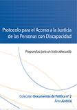Protocolo para el acceso a la justicia de las personas con discapacidad