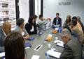 Reunión en la sede de la FIIAPP